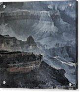 Grand Canyon Watercolor Acrylic Print