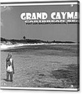 Grand Cayman Acrylic Print