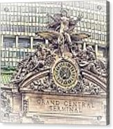 Grand Central Decor Acrylic Print