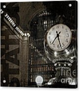 Grand Central Station New York City Acrylic Print