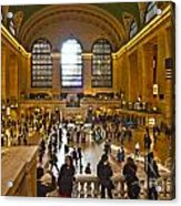 Grand Central Terminal Nyc Acrylic Print