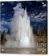 Grand Eruption Acrylic Print