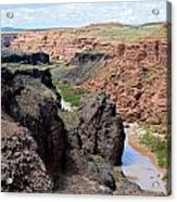 Grand Falls Viewpoint Acrylic Print