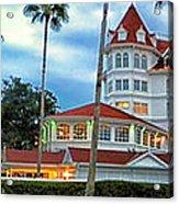 Grand Floridian Resort Walt Disney World Acrylic Print