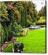 Grand Garden Acrylic Print