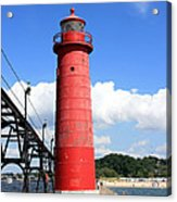 Grand Haven Rear Light Acrylic Print