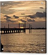 Grand Isle Sunset # 1 Acrylic Print