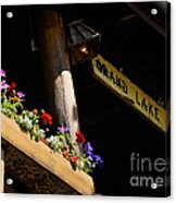 Grand Lake Lodge Porch Acrylic Print