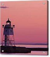 Grand Marais Mn Lighthouse 8 Acrylic Print