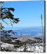 Grand Mesa Co North Side Valley View Acrylic Print