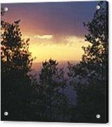 Grand Mesa Sunset Acrylic Print