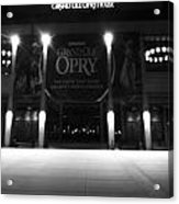 Grand Ole Opry At Night Acrylic Print by Dan Sproul