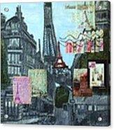 Grand Ole Paris-postcard From Paris Acrylic Print