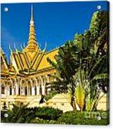 Grand Palace - Cambodia Acrylic Print