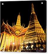 Grand Palace, Bangkok, Thailand Acrylic Print