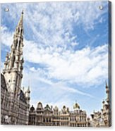 Grand Place In Brussels Belgium Acrylic Print