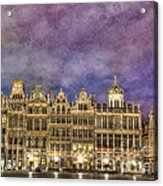 Grand Place Acrylic Print