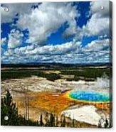 Grand Prismatic Pool Yellowstone National Park Acrylic Print