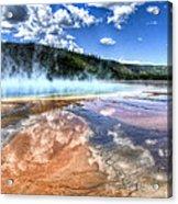 Grand Prismatic Spring - Yellowstone Acrylic Print