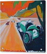 Grand Prix Acrylic Print