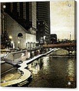 Grand Rapids Grand River Acrylic Print
