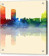 Grand Rapids Michigan Skyline 2 Acrylic Print