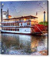 Grand Romance Riverboat Acrylic Print