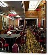 Grand Salon 04 Queen Mary Ocean Liner Acrylic Print