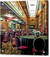 Grand Salon 05 Queen Mary Ocean Liner Extreme Acrylic Print