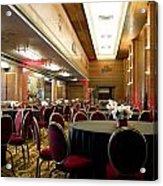 Grand Salon 05 Queen Mary Ocean Liner Acrylic Print