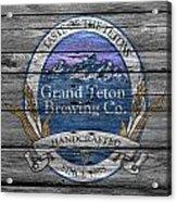 Grand Teton Brewing Acrylic Print