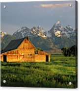 Grand Teton National Park , Wyhomestead Acrylic Print