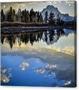 Grand Teton Sunset Acrylic Print