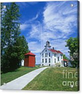 Grand Traverse Lighthouse Acrylic Print