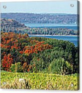 Grand Traverse Winery Lookout Acrylic Print