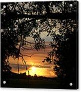 Grand Valley Sunset Acrylic Print