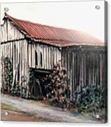 Grandaddy's Barn Acrylic Print