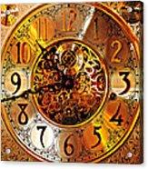 Grandfather Time Hdr Acrylic Print