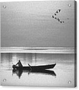 Grandfather Was A Fisherman Acrylic Print