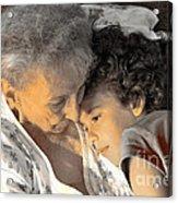 Grandma Acrylic Print