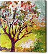Grandmas Apple Tree Modern Art Acrylic Print