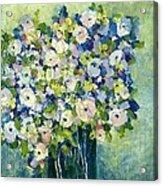 Grandma's Flowers Acrylic Print