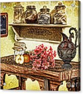 Grandma's Kitchen Acrylic Print by Mo T