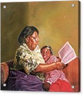 Grandmas Love Acrylic Print by Colin Bootman