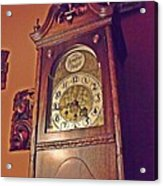 Grandmother Clock Acrylic Print