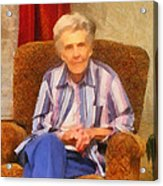 Grandmother Acrylic Print