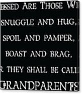 Grandparents Acrylic Print