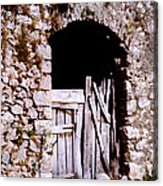 Grandpa's Back Door Acrylic Print