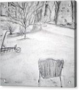 Grandpa's Backyard II Acrylic Print
