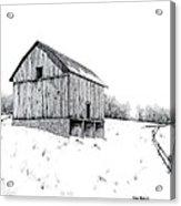 Grandpa's Barn Acrylic Print